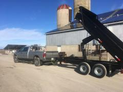 For hauling material to a